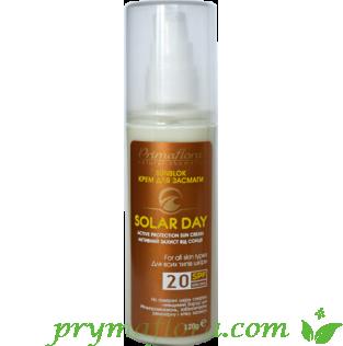 Крем для засмаги (сонцезахисний) SPF20