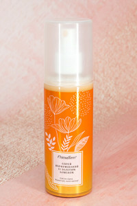 Спрей парфюмований для тіла і волосся з золотим блиском